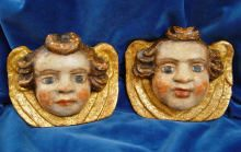 Ein Paar Putti, pair of angels, amorini